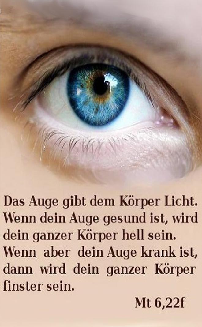 Bibel Auge Um Auge