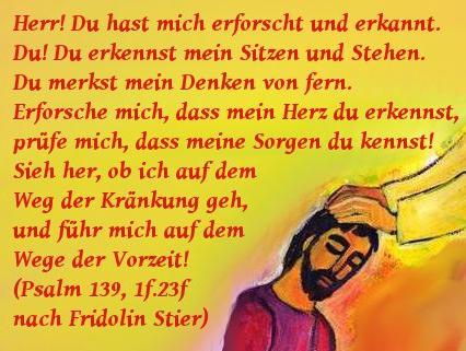 Psalm 139 Einheitsübersetzung